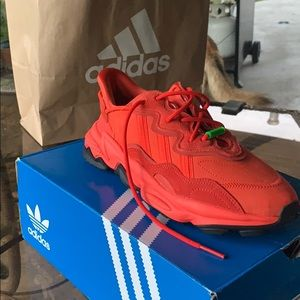 New Deadstock Adidas Ozweego TR Red Sz 9